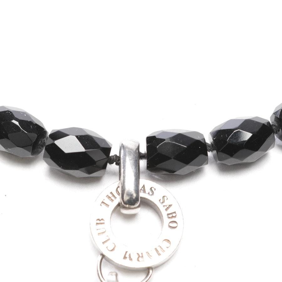 Kette von Thomas Sabo in Schwarz und Silber