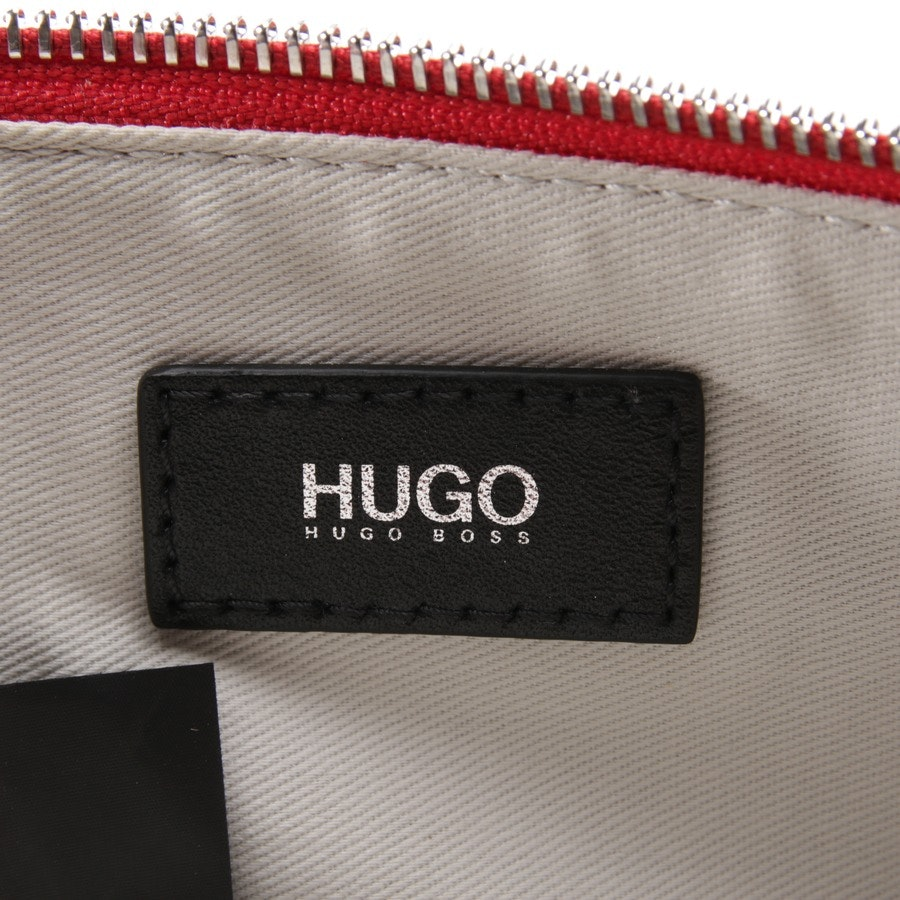 evening bags from Hugo Boss in red