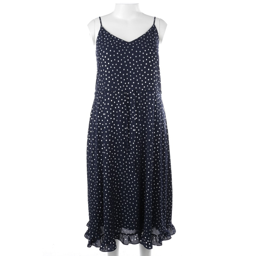 dress from Essentiel Antwerp in navy blue and silver size 38 FR 40 - new
