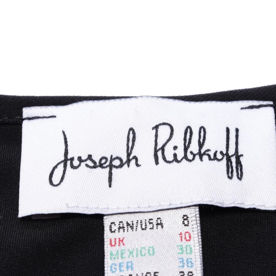 Abendkleid von Joseph Ribkoff in Schwarz und Grau Gr. 36