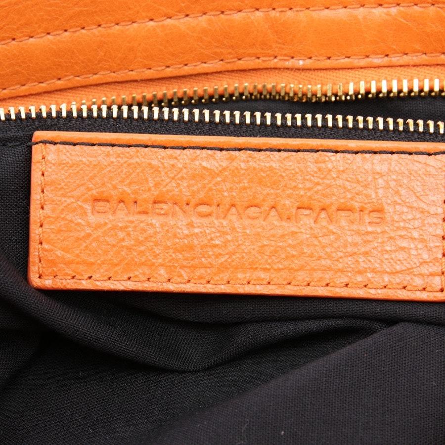 handbag from Balenciaga in orange - giant 12 city - new