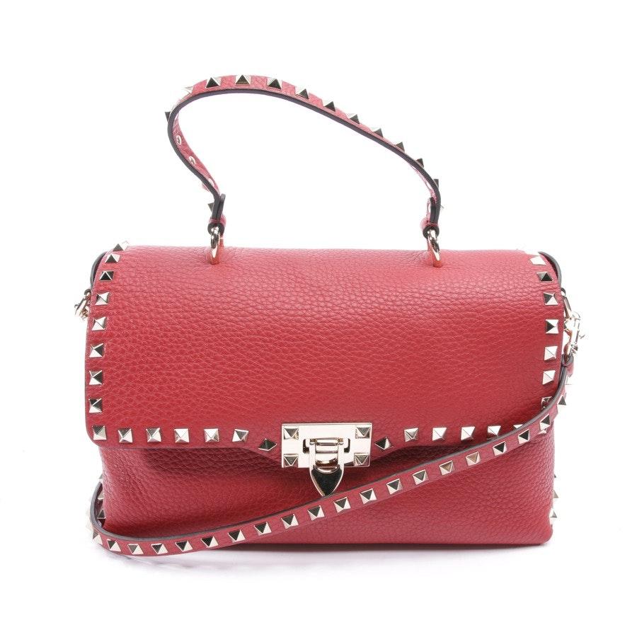 Handtasche von Valentino in Rot - Rockstud