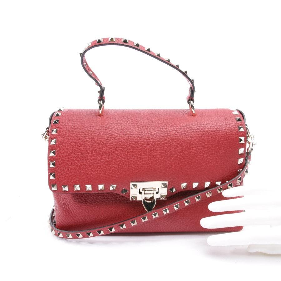 shoulder bag from Valentino in red - rockstud