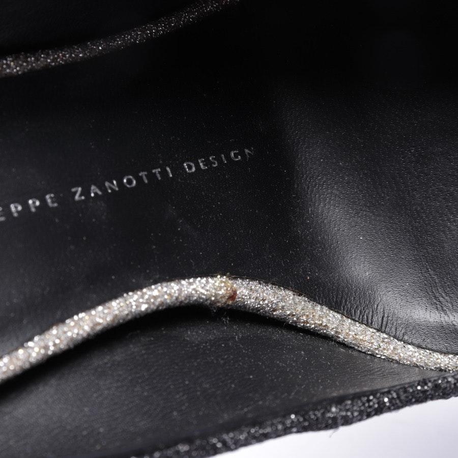 Peeptoes von Giuseppe Zanotti in Schwarz Gr. EUR 38