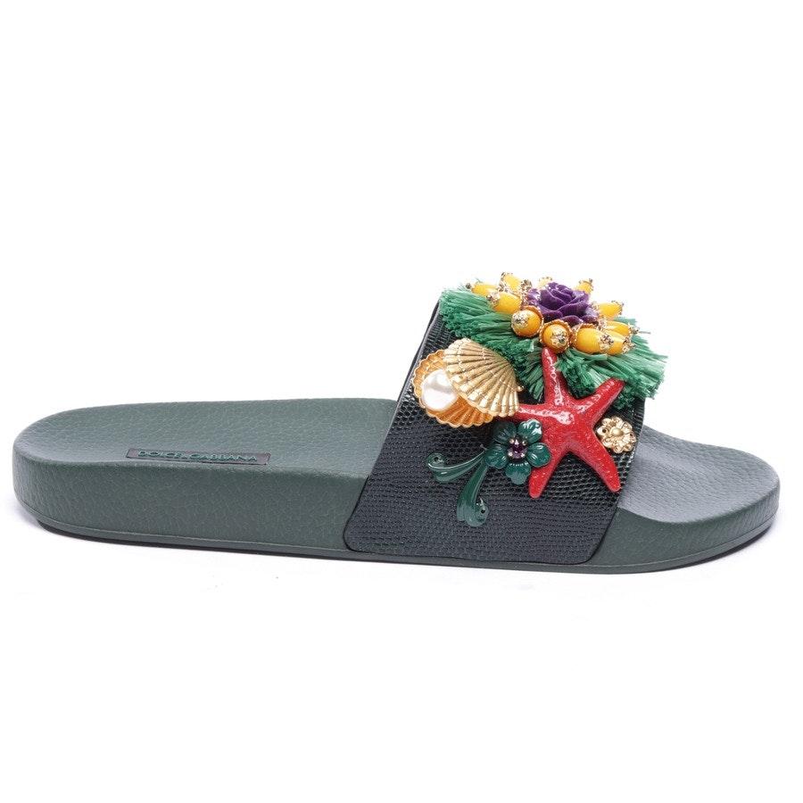 Sandalen von Dolce & Gabbana in Multicolor Gr. EUR 41