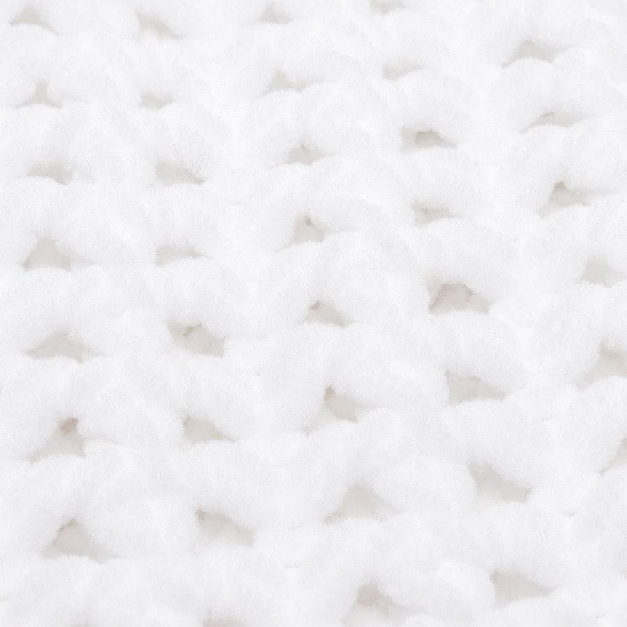 Grobstrickjacke von Balenciaga in Weiß Gr. 36 FR 38