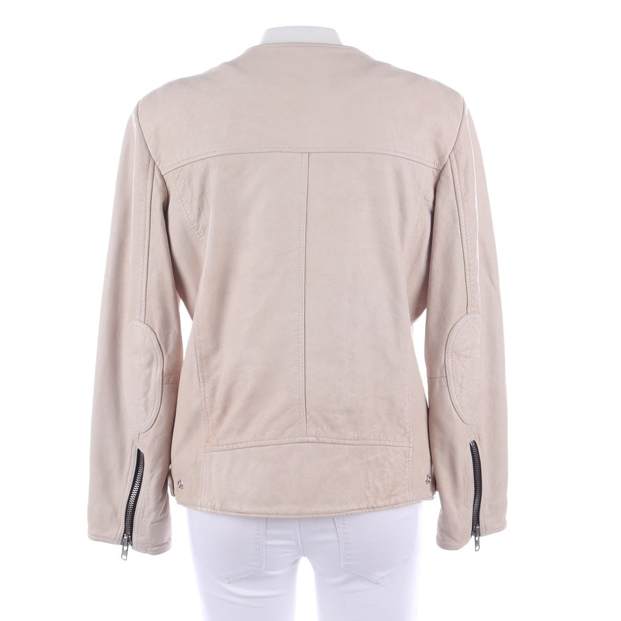 leather jacket from Isabel Marant Étoile in sand size 40 FR 42