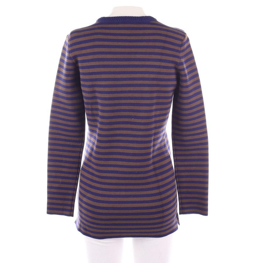 Pullover von Burberry Brit in Blau und Braun Gr. S - Neu