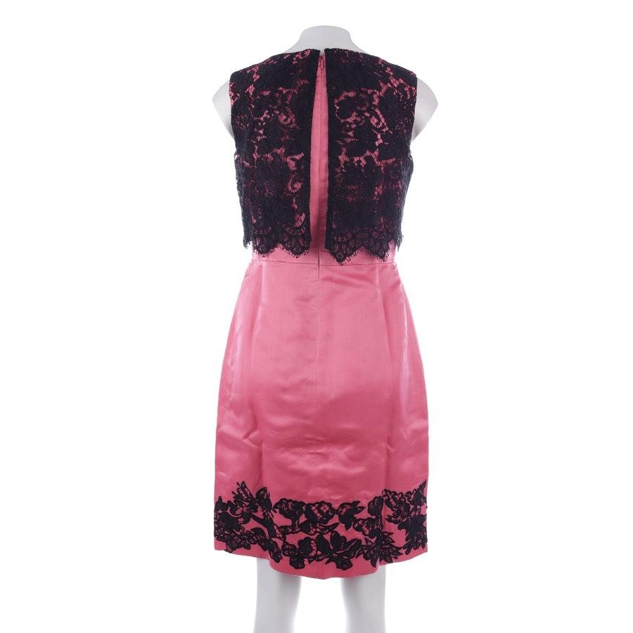Kleid von Erdem in Pink und Schwarz Gr. DE 38