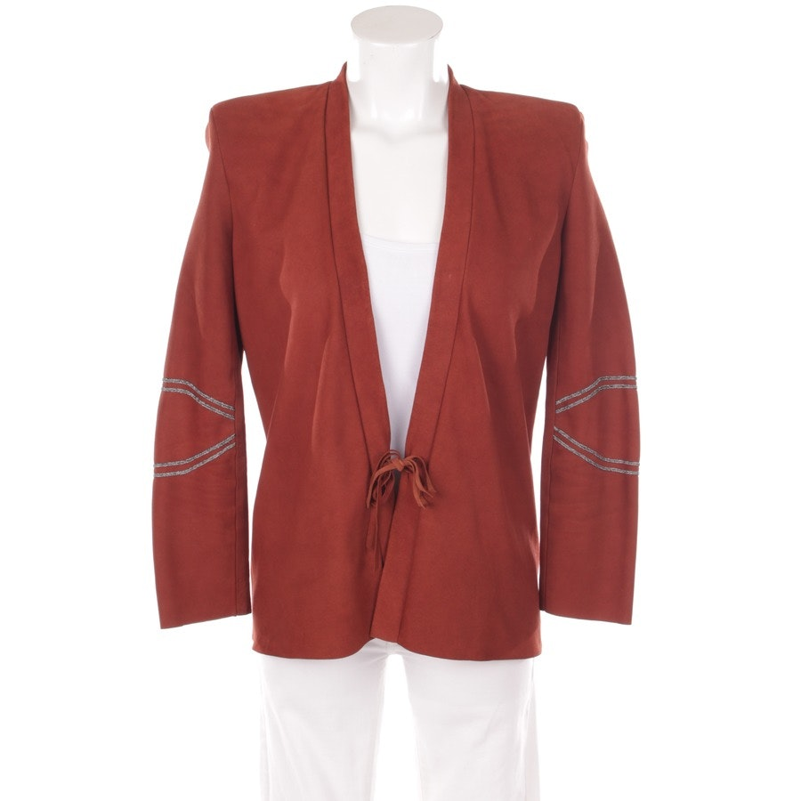 blazer from Hironaé in brown size S - new!