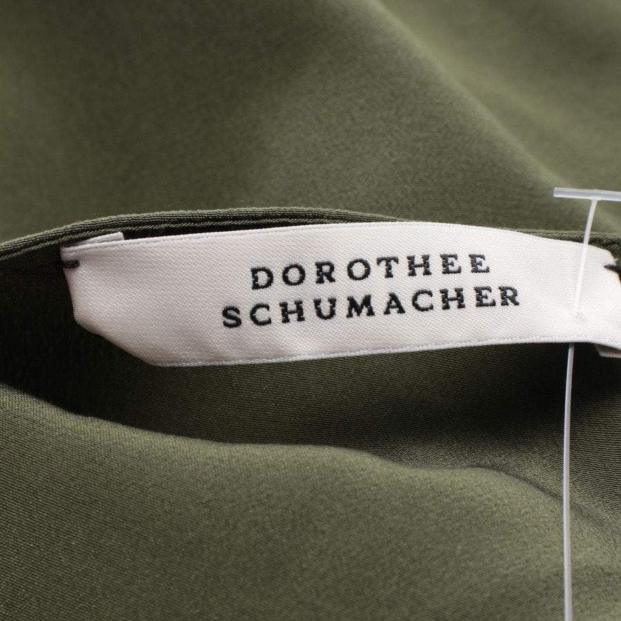 Seidenkleid von Dorothee Schumacher in Khaki Gr. 38 US 8