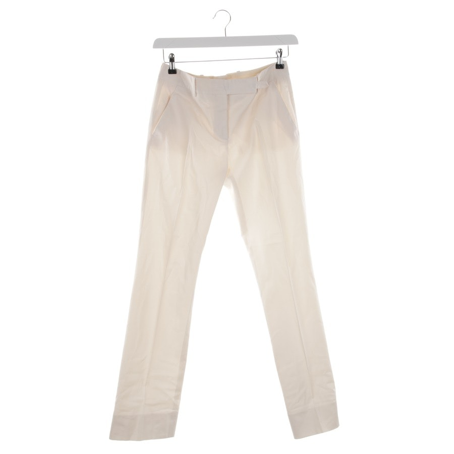 Hose von Prada in Creme Gr. 36 IT 42