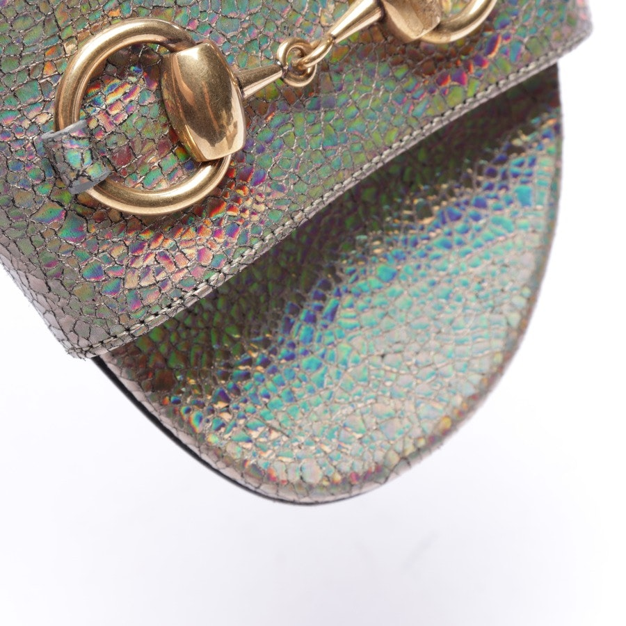 Sandaletten von Gucci in Multicolor Gr. EUR 40