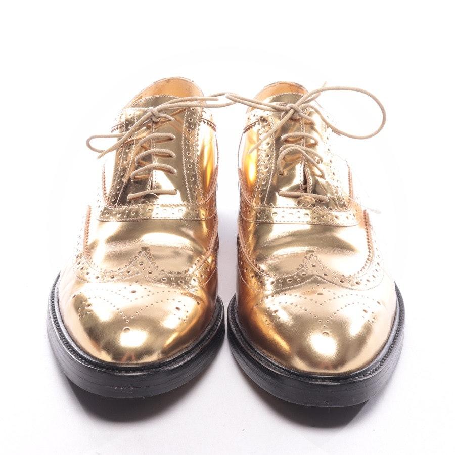 Schnürschuhe von Burberry in Gold Gr. D 41
