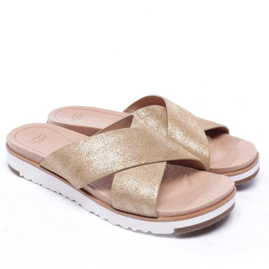 Sandalen von UGG Australia in Gold Gr. EUR 38 - Neu
