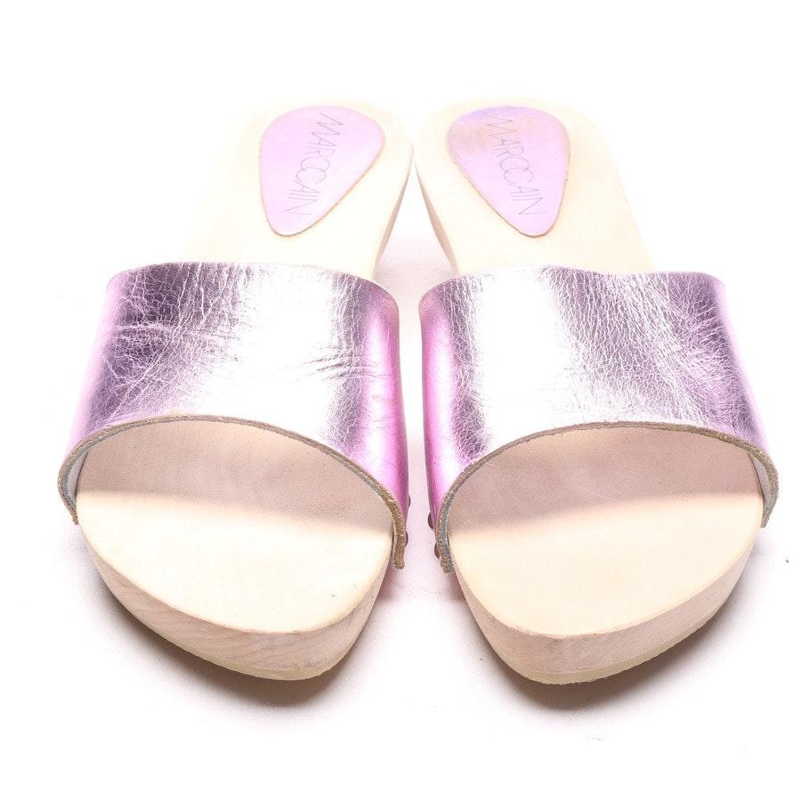 Sandaletten von Marc Cain in Rosa Gr. EUR 39