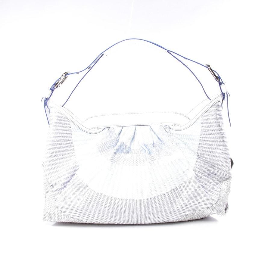shoulder bag from Fendi in white and blue - dr. hobo