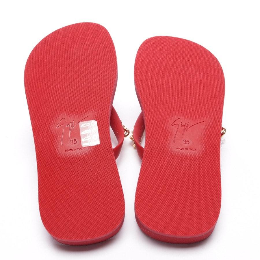 Sandalen von Giuseppe Zanotti in Rot Gr. D 35 - Neu
