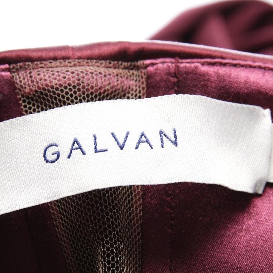 Jumpsuits von Galvan London in Bordeaux Gr. 34 US 4