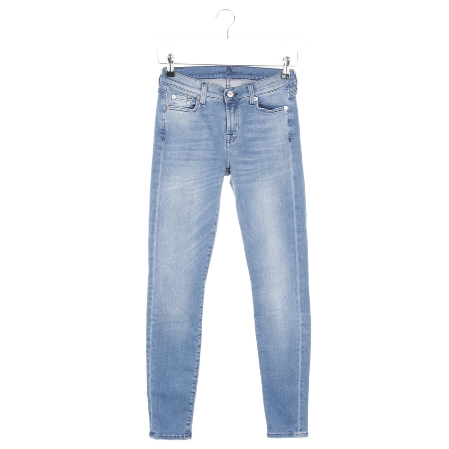 Jeans von 7 for all mankind in Blau Gr. W26 - The Skinny