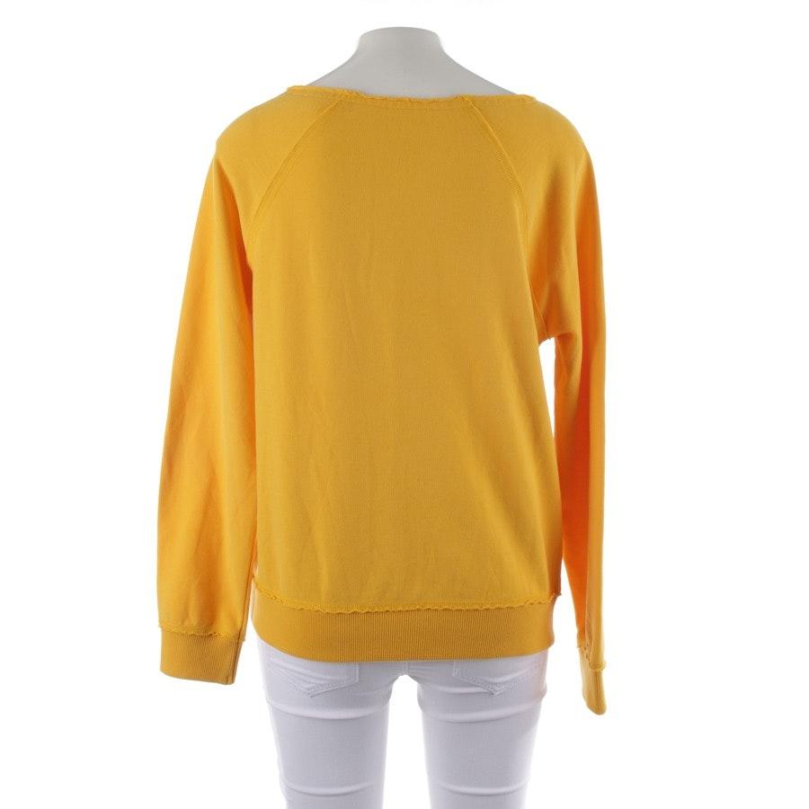 Sweatshirt von Juvia in Gelb Gr. XS