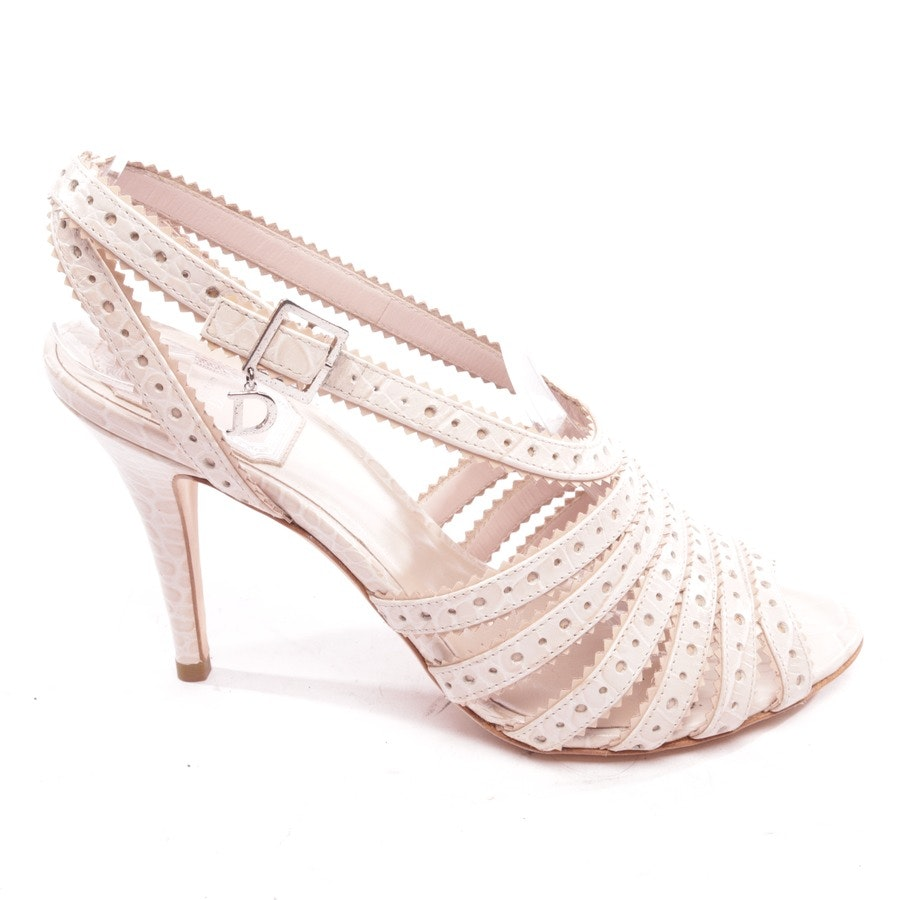 heeled sandals from Dior in beige size D 36,5