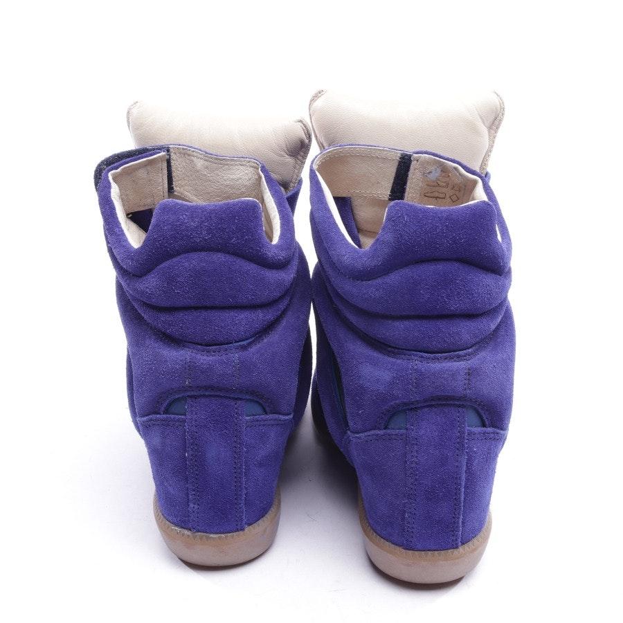 High-Top Sneaker von Isabel Marant in Blau Gr. EUR 35 - Bekett