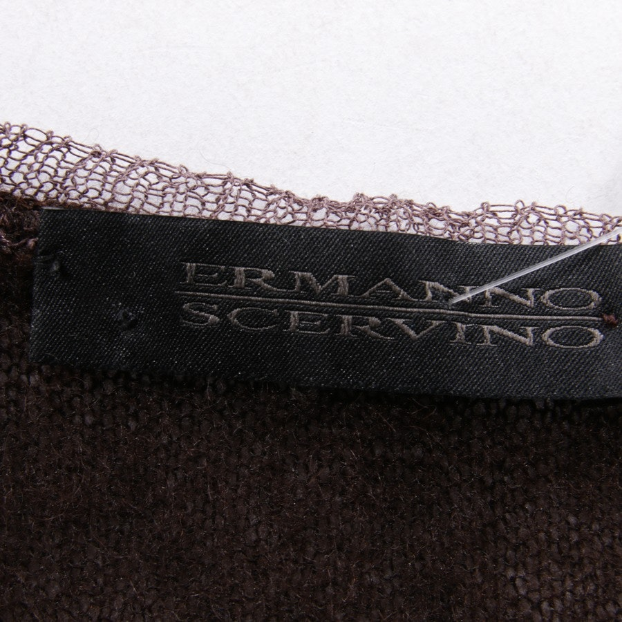 Strickpullover von Ermanno Scervino in Braun Gr. 34 IT 40