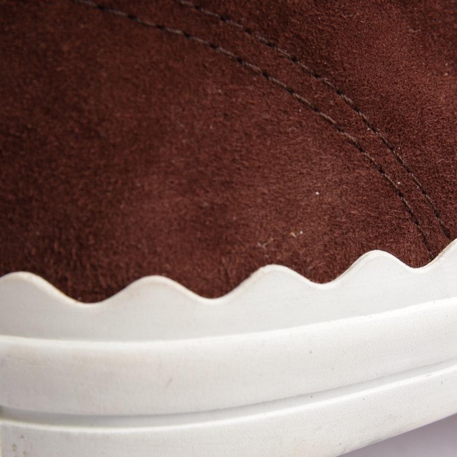 High-Top Sneaker von Chloé in Braun und Beige Gr. EUR 37