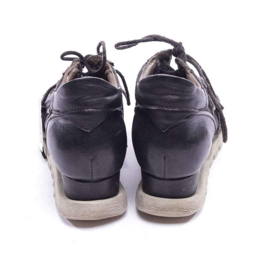 Sneaker von A.S.98 in Dunkelbraun und Schwarz Gr. EUR 37