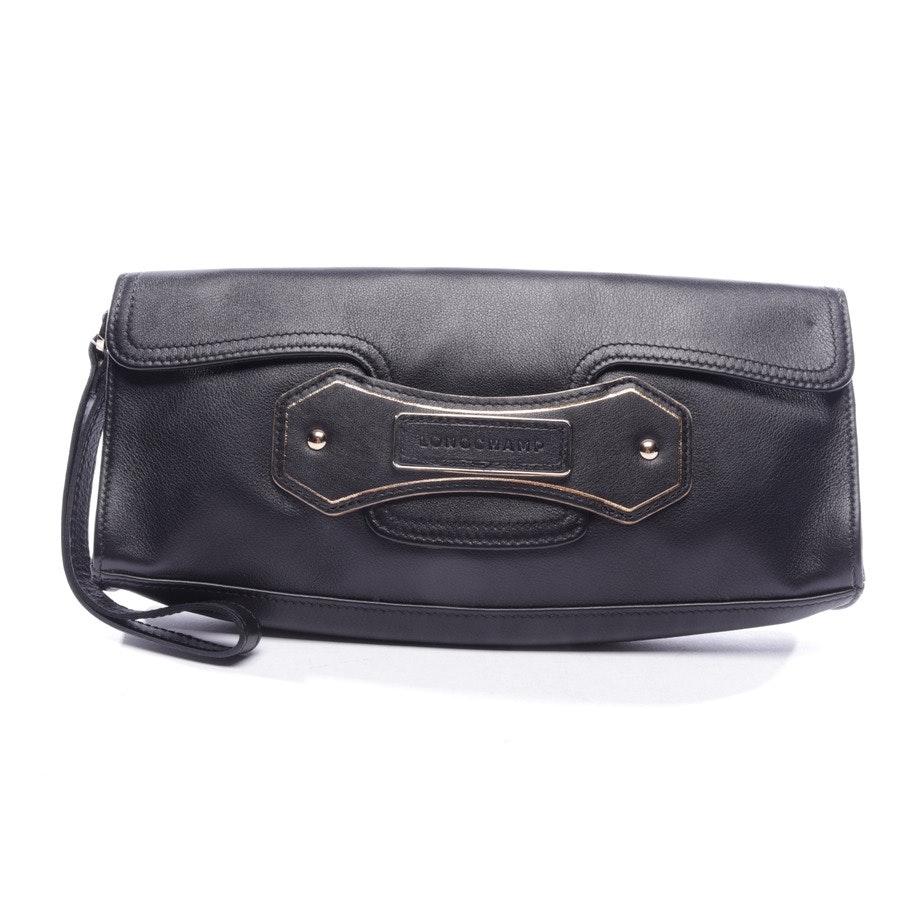 Clutch von Longchamp in Schwarz