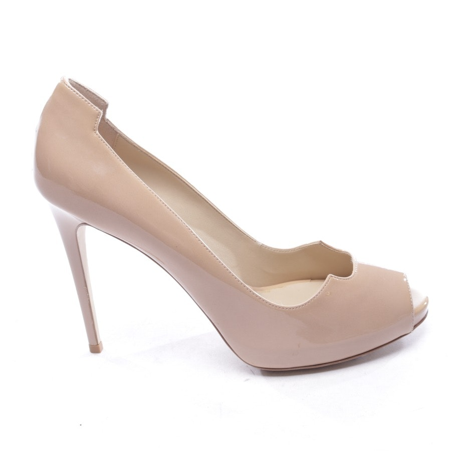 Peeptoes von Stella McCartney in Beige Gr. D 40 - Neu