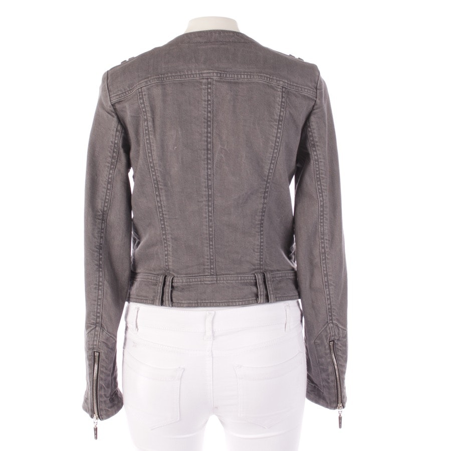 between-seasons jackets from Airfield in gray and black size DE 36