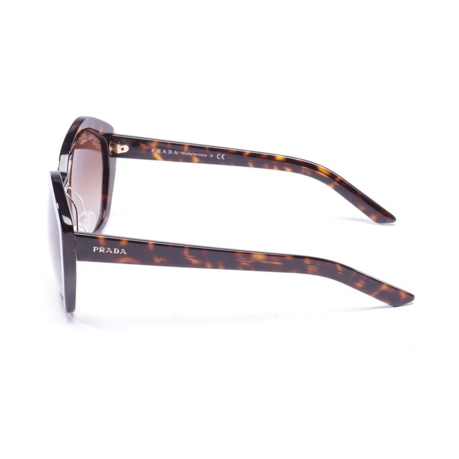 Sonnenbrille von Prada Linea Rossa in Braun - SPR08X - Neu
