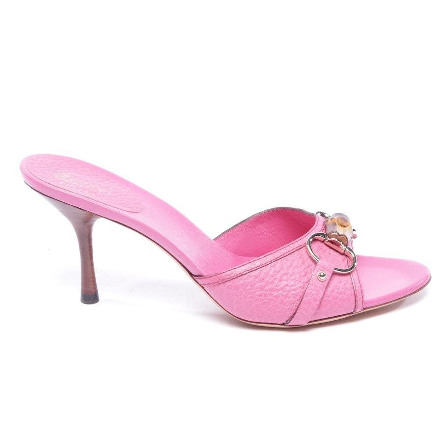 Sandaletten von Gucci in Pink Gr. D 39 - NEU