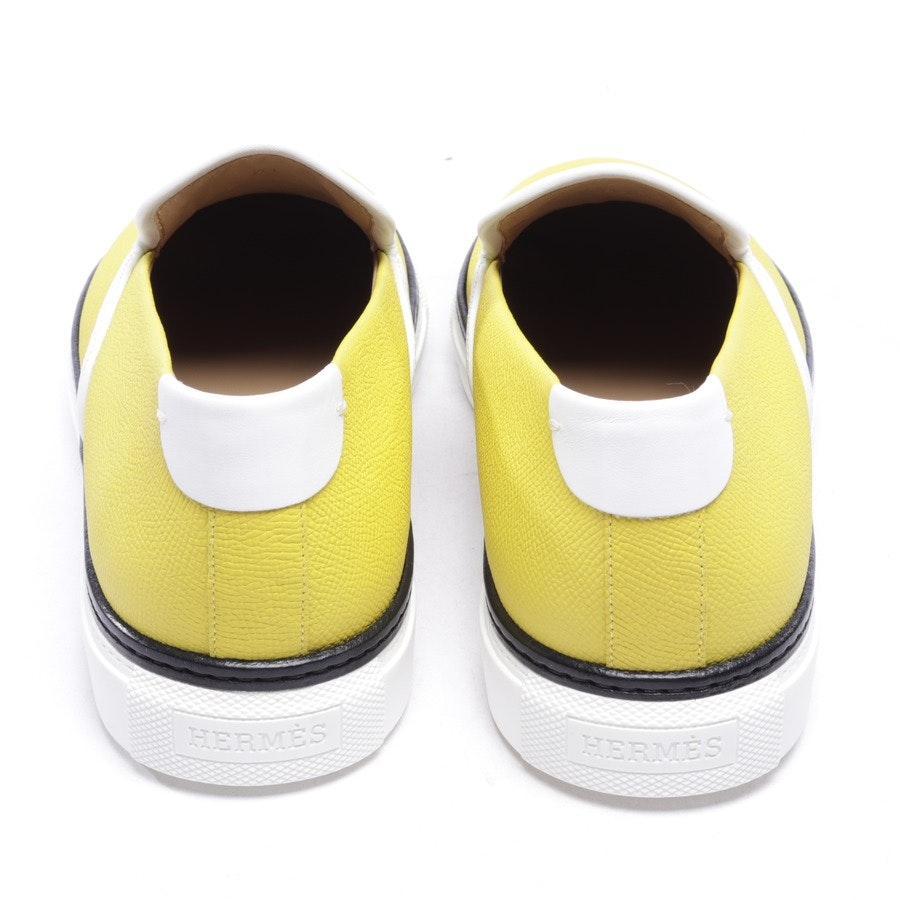 loafers from Hermès in yellow size EUR 41 - kick - new
