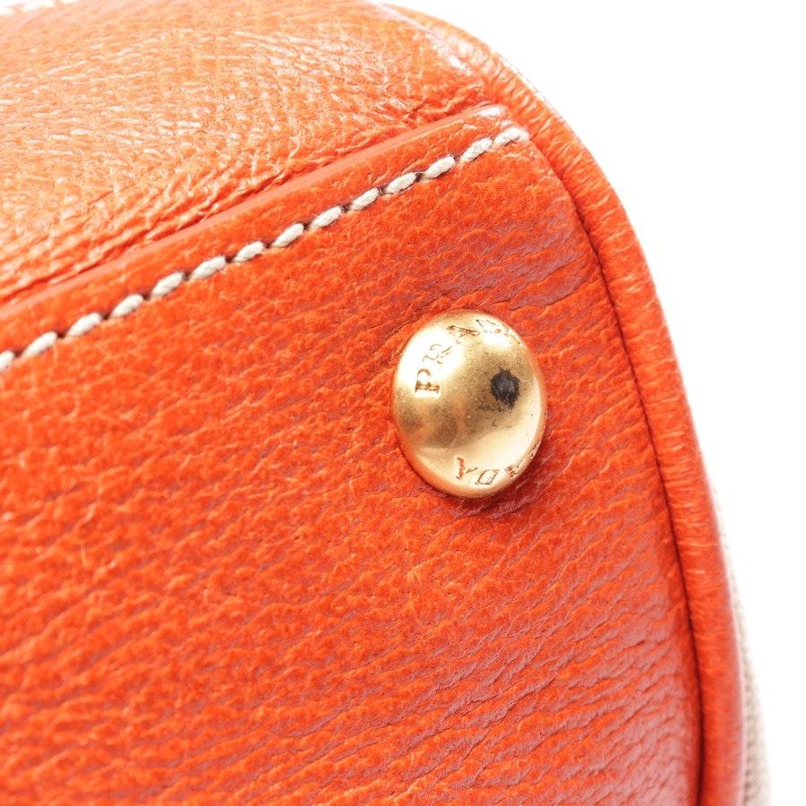 shoulder bag from Prada in sand and orange