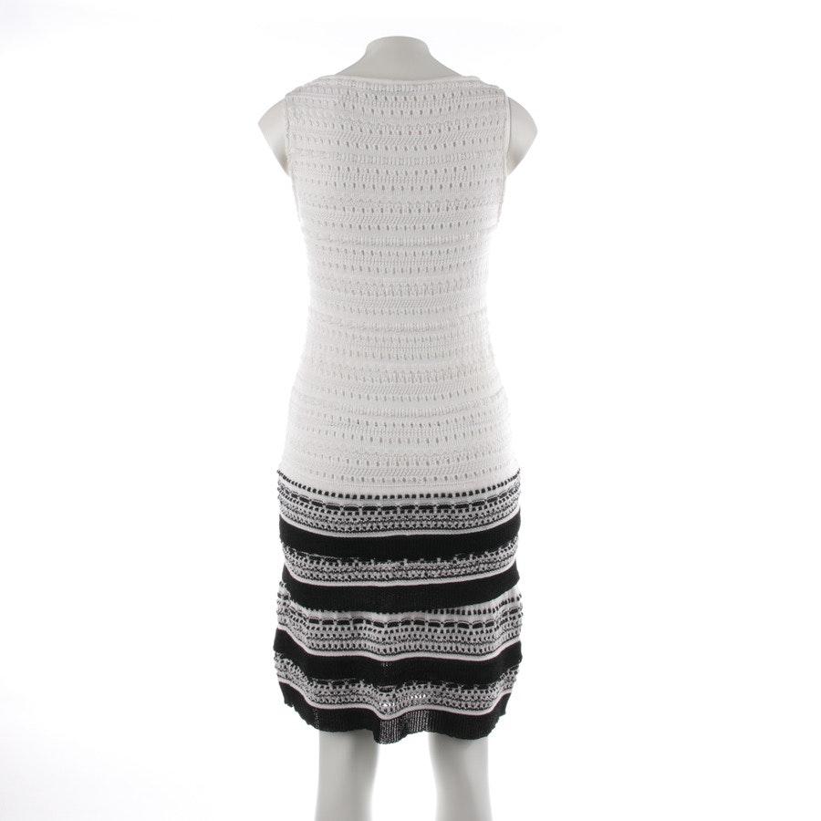 Strickkleid von Valentino in Weiß und Schwarz Gr. 34