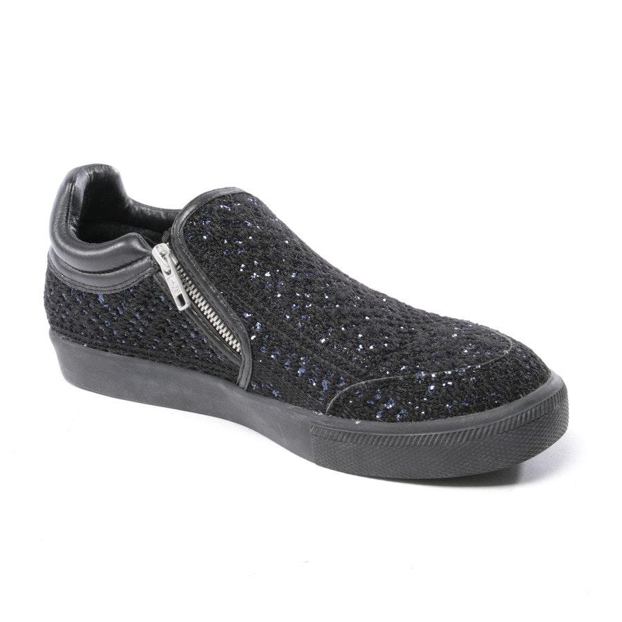 Sneaker von Ash in Schwarz und Blau Gr. D 41
