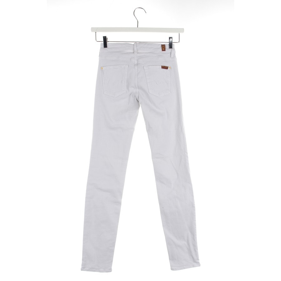 jeans from 7 for all mankind in white size W25