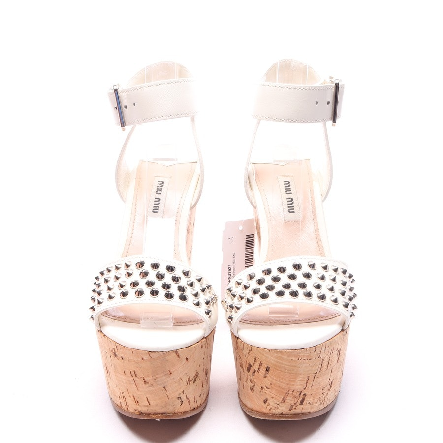 heeled sandals from Miu Miu in know size EUR 36,5