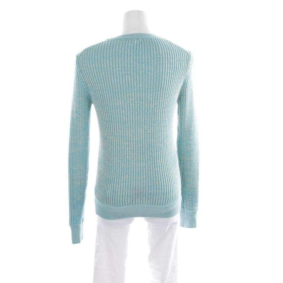 Pullover von Ganni in Himmelblau und Grau Gr. XS