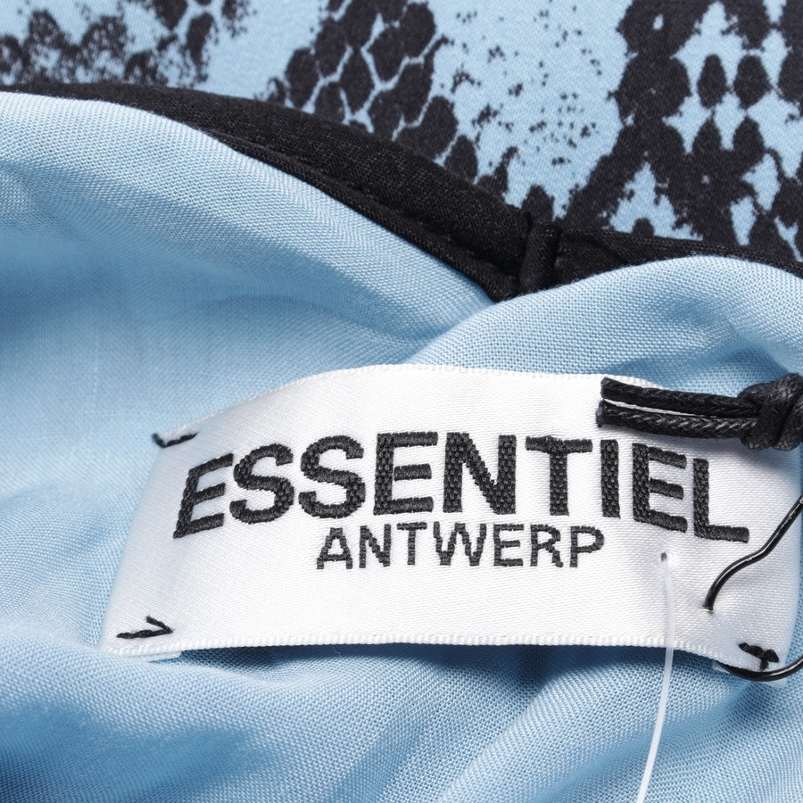 dress from Essentiel Antwerp in light blue and black size 36 FR 38 - new with label