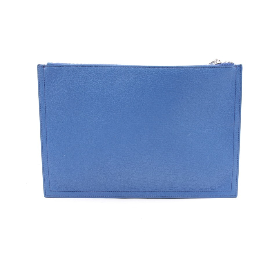 clutches from Givenchy in blue - new