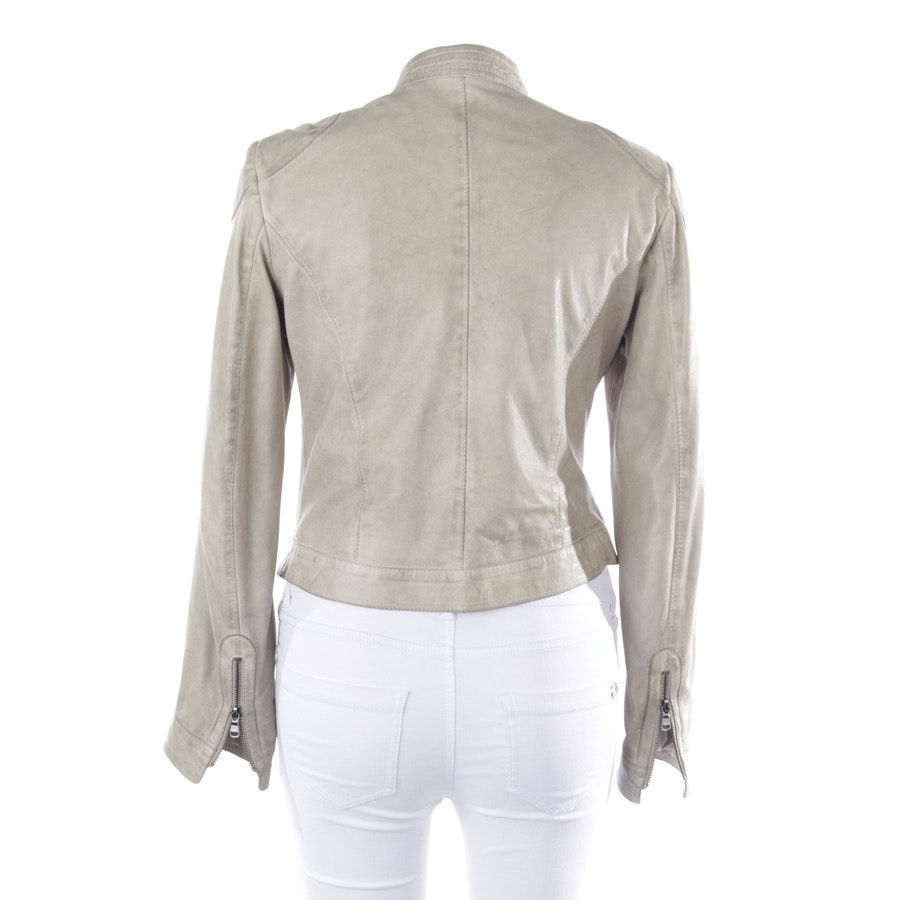 leather jacket from Schyia in grége size 40
