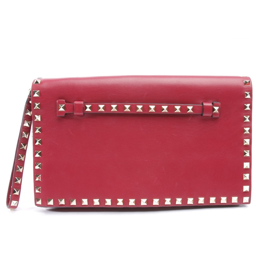clutches from Valentino in burgundy - rockstud
