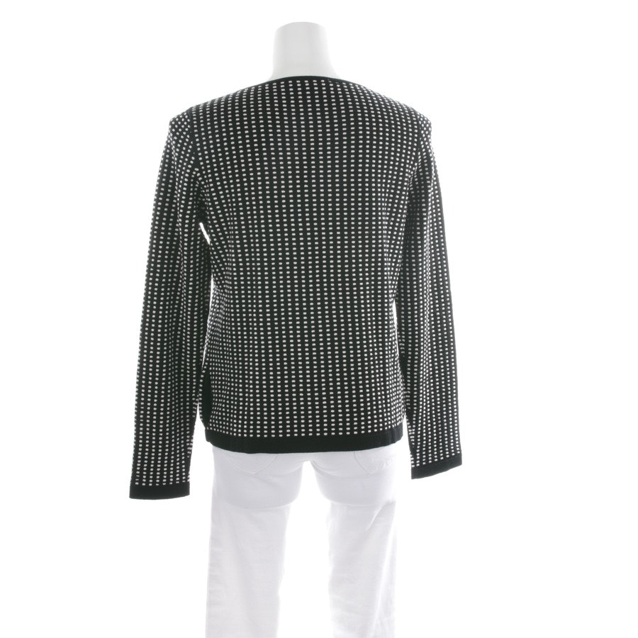 knitwear from Max Mara in black and white size L