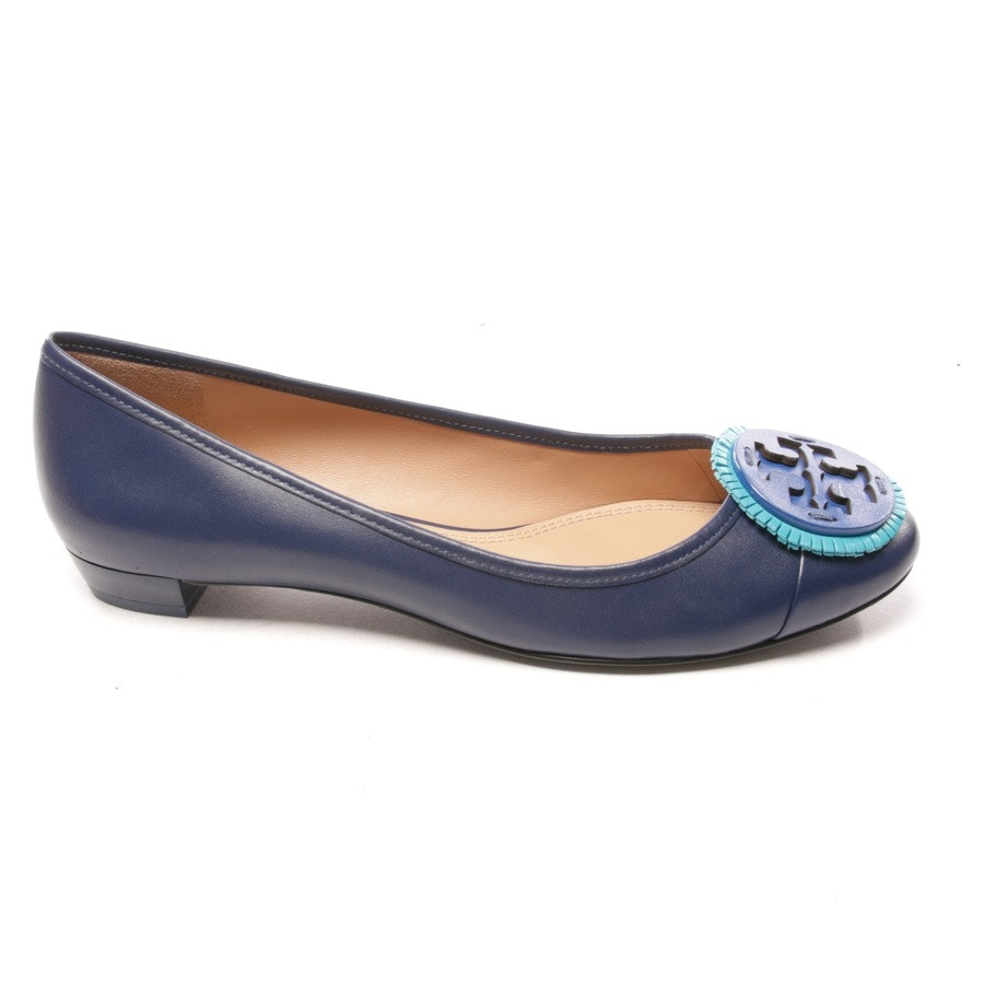 loafers from Tory Burch in dark blue size D 39,5 US 9 - new
