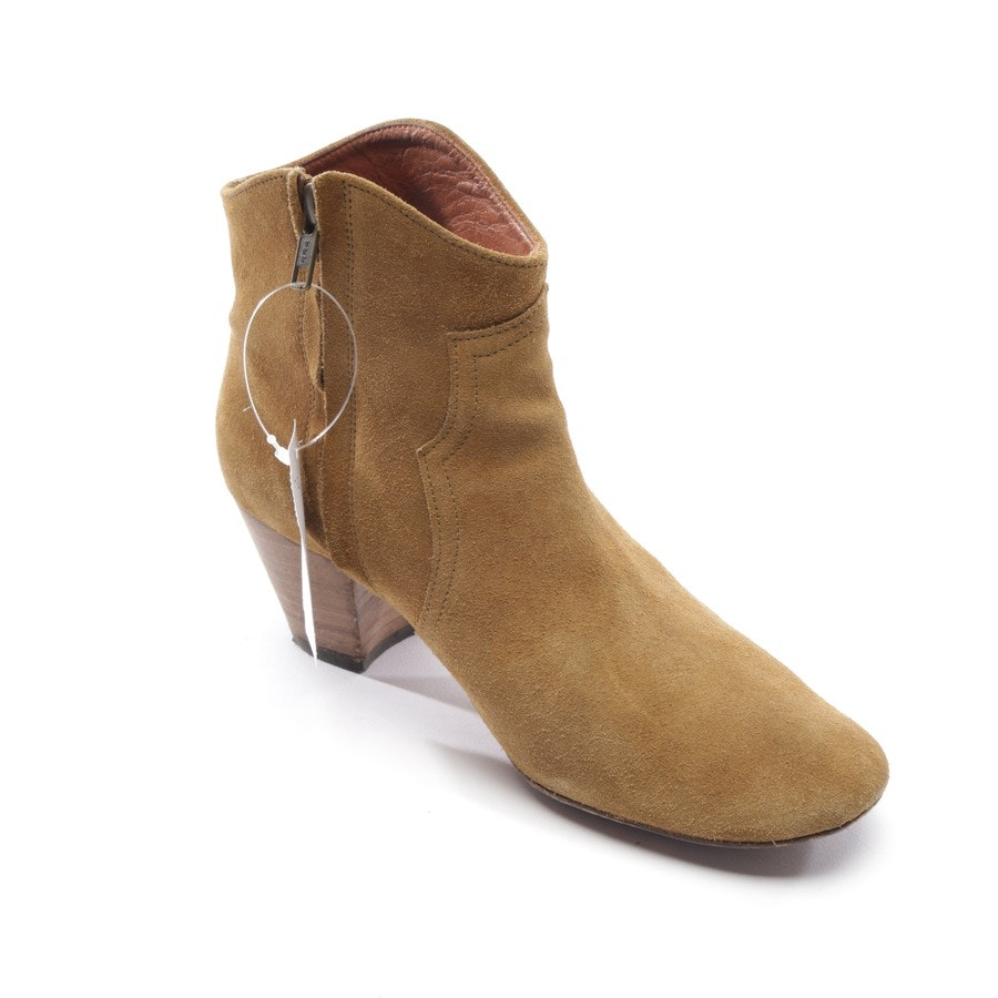 ankle boots from Isabel Marant in beige size EUR 38 - thicker