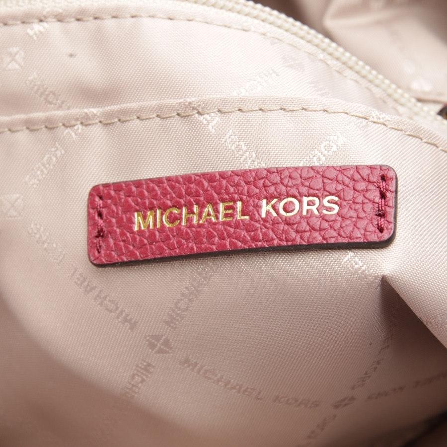 Schultertasche von Michael Kors in Weinrot